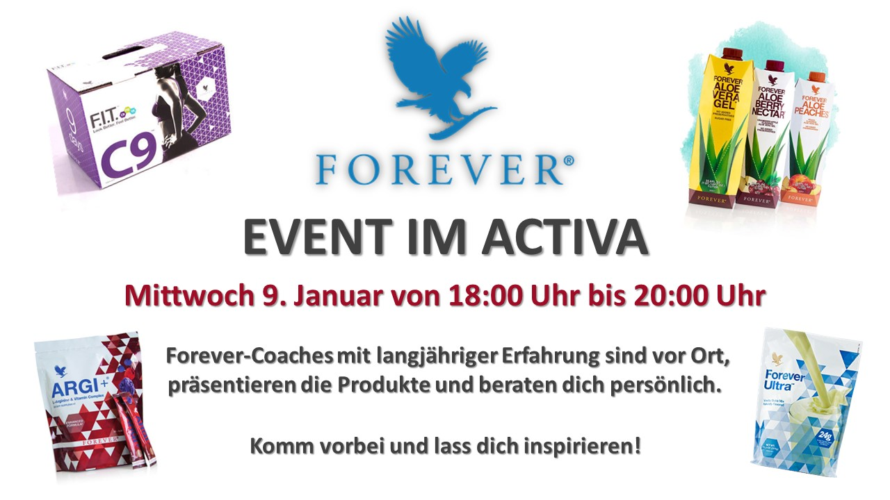 Forever Event Flyer